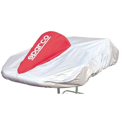 (STOCK LAST) SPARCO KART COVER RED CLOTH