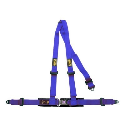 3 PUNKTE HARNESS BLUE OMP ROAD 3