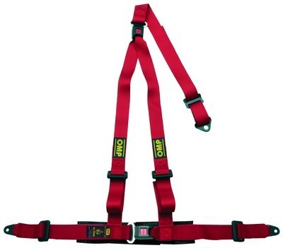 3 PUNKTE HARNESS RED OMP STRADA 3