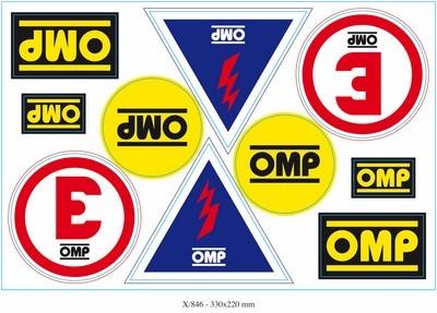 SET OMP ADHESIVOS X EXTINGUISHER...