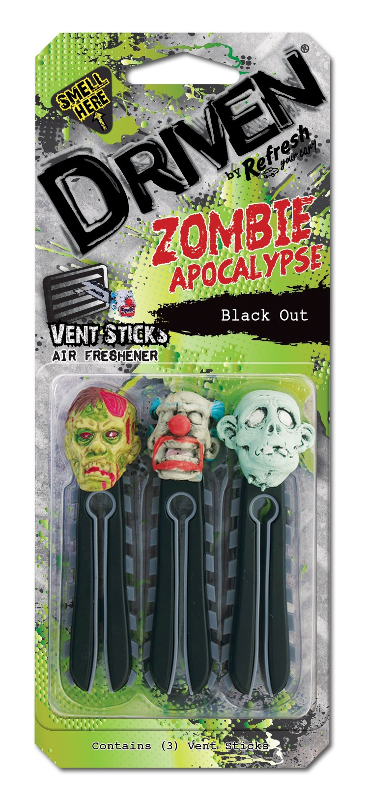DRIVEN STICKS ASSAINISSEUR ZOMBIE