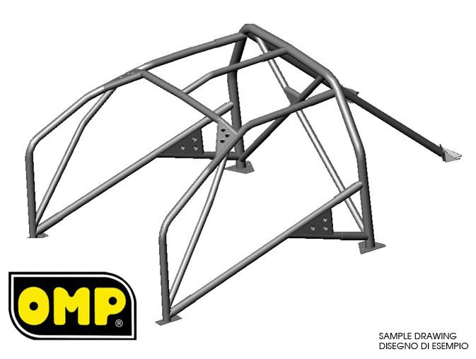 CAGE OMP JAGUAR E TYPE ALL 6 B FE45
