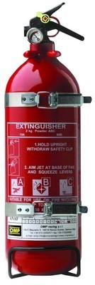 POWDER EXTINGUISHER 2 KG HOMOL.EN3
