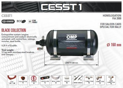 CESST1 FIRE EXTINGUISHING SYSTEM