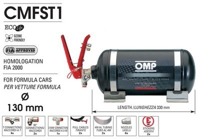 CMFST1 FIRE EXTINGUISHING SYSTEM