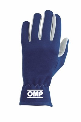 OMP RALLY GLOVES BLUE SIZE