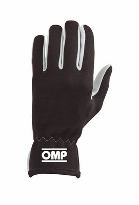 OMP RALLY GLOVES BLACK SIZE