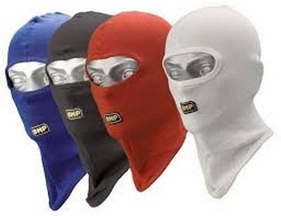 OPEN FACE BLACK BALACLAVA