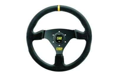 OMP TARGA STEERING WHEEL BLACK / BLACK