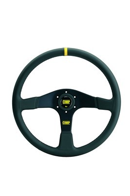 "OMP STEERING WHEEL ""VELOCITA '"" BLACK"