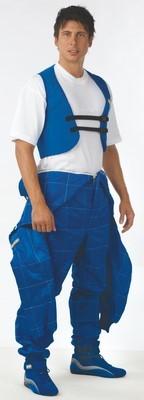 RIB PROTECTOR WAISTCOAT SIZE: L BLUE