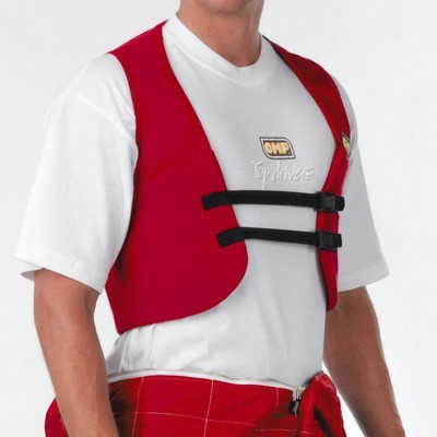 RIB PROTECTOR WAISTCOAT SIZE: L RED