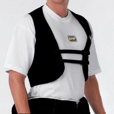 RIB PROTECTOR WAISTCOAT SIZE: L BLACK