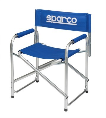 PADDOCK CHAIR BLUE SPARCO