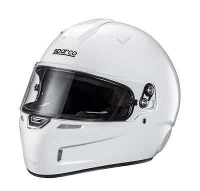 CASCO SPARCO KF-5W SKY KEVLAR / TG ??FIBERGLASS FIA.  WHITE