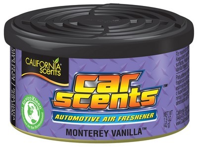 CS CAR FRESHENER VANILLA MONTEREY SCENTS
