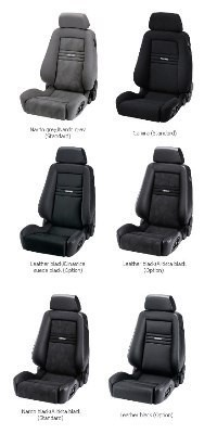 RECARO ERGOMED E - AIRBAG CLIMA  (MADE BY ORDER) PILOT