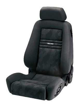 RECARO ERGOMED E - AIRBAG BASIS ARTISTA BLACK/NARDO BLACK COPILOT