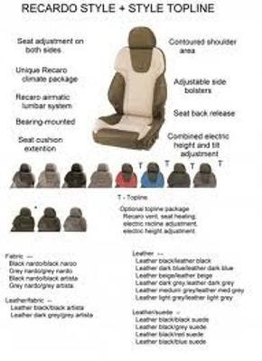 RECARO AM19 STYLE XL TOPLINE FABRIC DINAMICA ACCORDING TO ORDER/LEATHER VIENNA BLACK/ART.LEATHER BLA