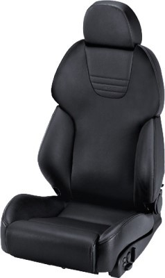 RECARO AM19 STYLE TOPLINE LEATHER BLACK COPILOT