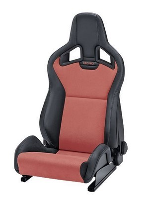 Recaro Sportster Cs Heating Artificial Leather Black Dinamica Red Pilot