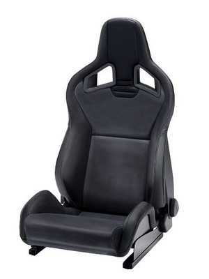 RECARO SPORTSTER CS PELE ARTIFICIAL PRETO COPILOTO