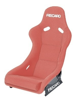 RECARO (FIA) POLE POSITION - VELOUR RED PILOT&COPILOT