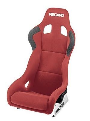RECARO (FIA) PROFI SPG XL - VELOUR RED PILOT&COPILOT