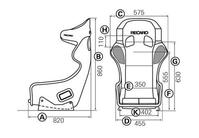 RECARO (FIA) PRO RACER SPG HANS - VELOUR NEGRO PILOTO&COPILOTO