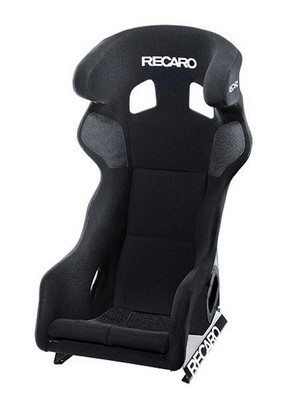 RECARO (FIA) PRO RACER SPG HANS XL - VELOUR BLACK PILOT&COPILOT
