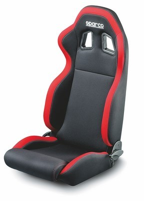 SEAT RED BLACK SPARCO R100