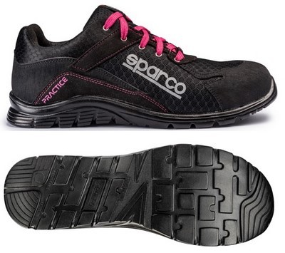 SHOES SPARCO PRACTICE TG.  BLACK / PINK