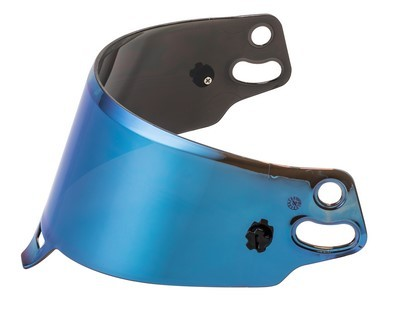 BLUE SPARCO IRIDIUM VISIER HELM INTEGRAL