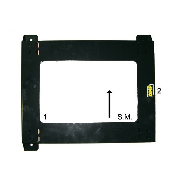 OMP BASE SITZPASSAGIERS CITROEN C1 _05