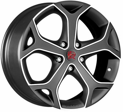 Wheel Reds Dark Bld 75X17 5X112 Cb79,6 New